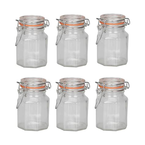 Glass Spice Jars Apollo Glass Spice Jars Pack