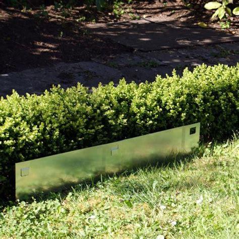 separation jardin bordure pelouse separation jardin acier 195 cm