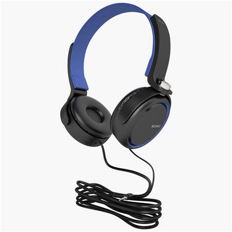 Headphoneheadset Sony Mdr Xb250 Bass Original 3d sony mdr xb250