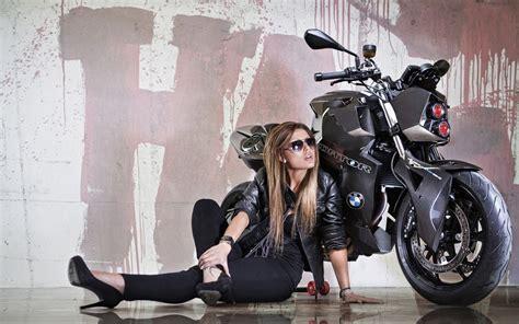 wallpaper girl with bike beautiful stylish girl bike photography desktop hd