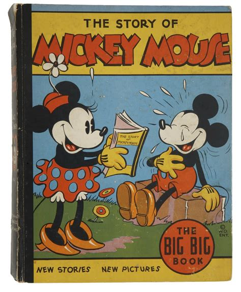mouse books mickey mouse books from the 1930s konsumerism run amok