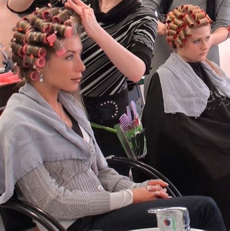 old fashioned salon perms 739 besten curlers and rollers bilder auf pinterest