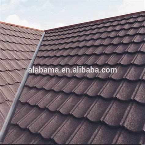 Flat Roof Tiles Environment Friendly Flat Coated Roof Tiles Bond Coated Metal Roofing Roof Tiles