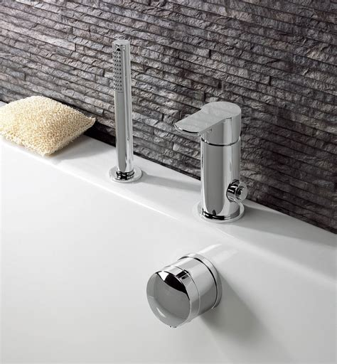 Crosswater Wisp Deck Diverter Valve For Bath Filler And Bathroom Shower Controls