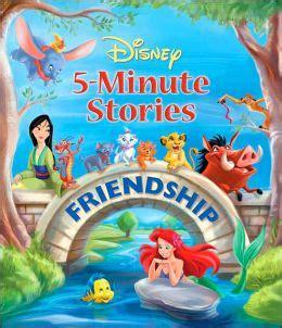 disney 5 minute stories friendship by lara bergen