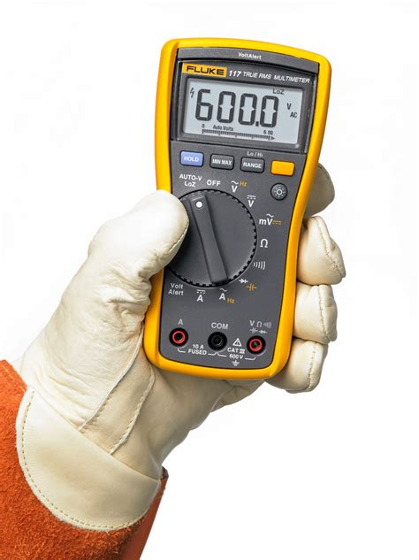Multitester Fluke 117 the fluke 117 true rms multimeter