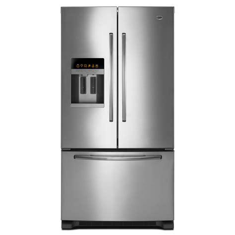 Sears Door Refrigerators by Maytag Mfi2665xem 25 5 Cu Ft Door Bottom