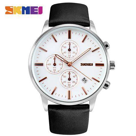 Skmei 9103 Jam Tangan Analog skmei jam tangan analog pria 9103cl black white