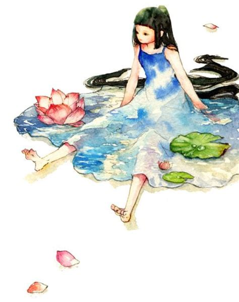 watercolor tutorial pixiv overyesterday source icca pixiv paints pinterest