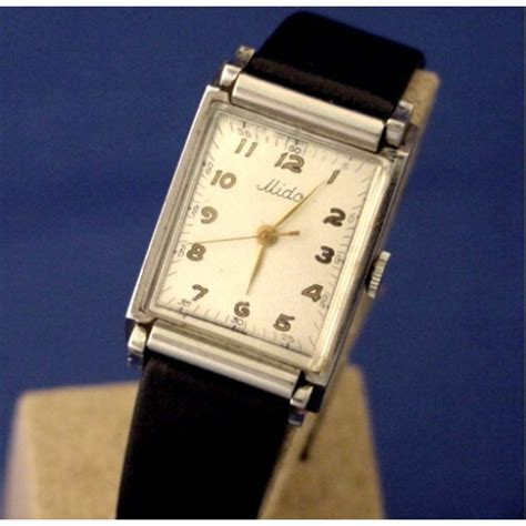 Mido Stainles mido stainless tanq ca 1950 s