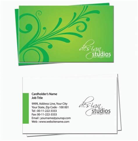 flower business card template illustrator floral business card template welovesolo