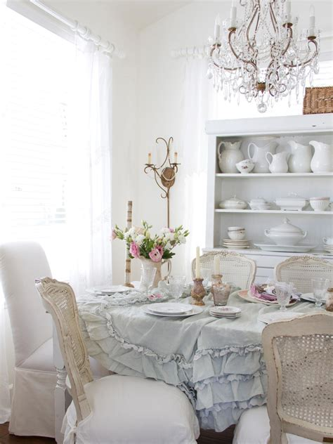 chic dining room shabby chic dining room photos hgtv