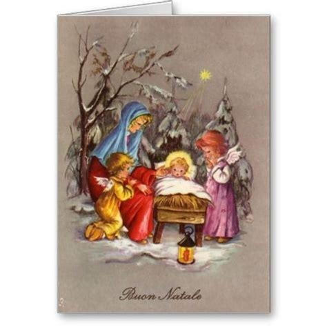 italian christmas cards  images  pinterest italian christmas christmas