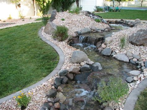 backyard creek ideas outdoor garden water fountains