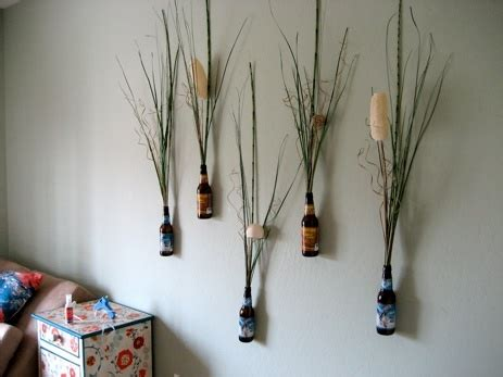 home made decor wall craft ideas bottle