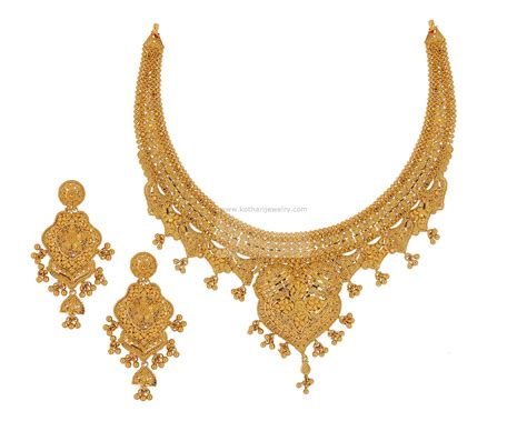 Gold Necklace gold necklace 22kt gold set 22kt gold