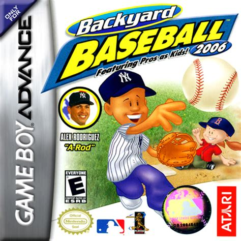 Backyard Baseball Gameboy Advance Play Backyard Baseball 2006 Nintendo Boy Advance
