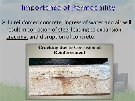 And Permeability Of Concrete permeability of concretre