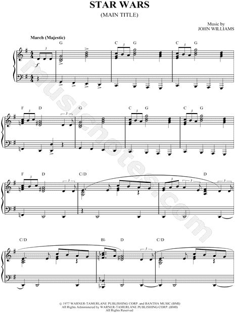 printable star wars theme song violin sheet music quot star wars quot i m sure one of my students will