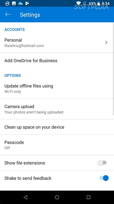 onedrive app for android microsoft releases onedrive for android version 5 2