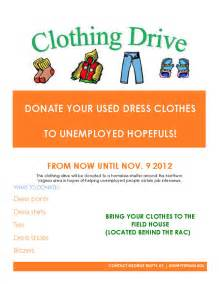 Fashion Designing Programs news clothing drive donate your used dress clothes