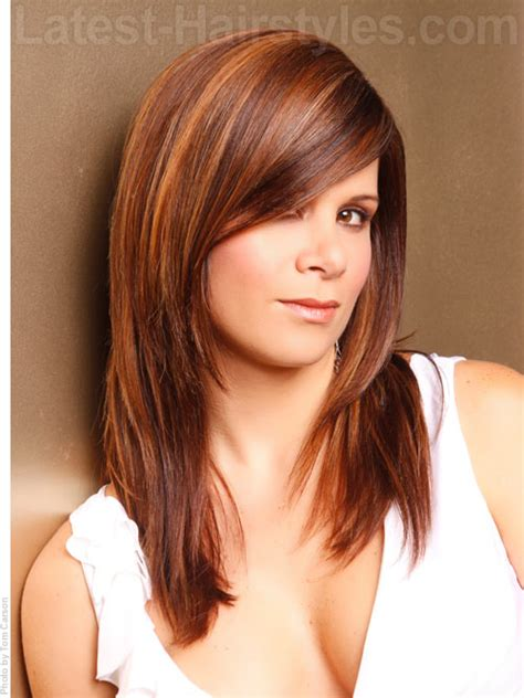 college hairstyles for layered cut long layered hairstyles for thick hair with bangs