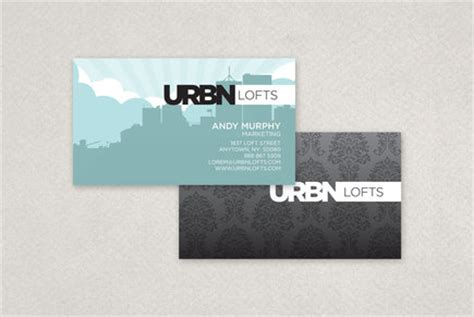 contemporary business card templates contemporary lofts business card template inkd
