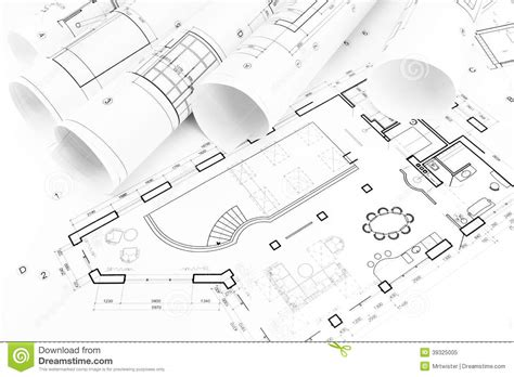 drawing house plans home design plan royalty free stock floor plan drawings stock image image of architecture