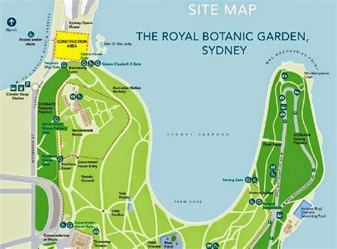 Sydney Botanic Gardens Map Licorice Allsorts My Last Day In Sydney
