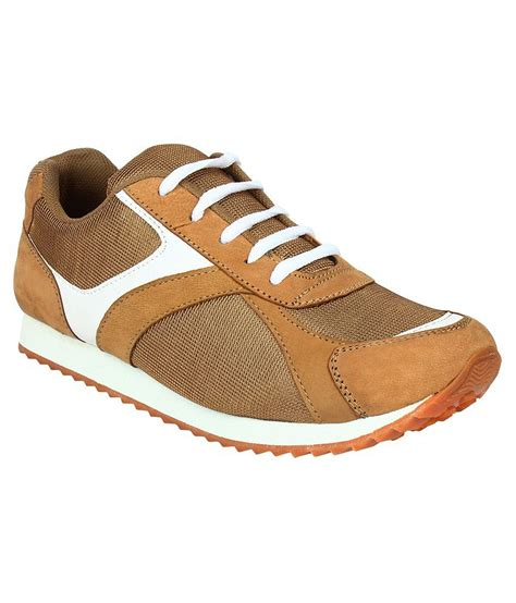 leather sport shoes san vertino brown leather sport shoes price in india buy