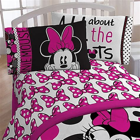 Rok Minnie minnie quot rock the dots quot sheet set buybuy baby
