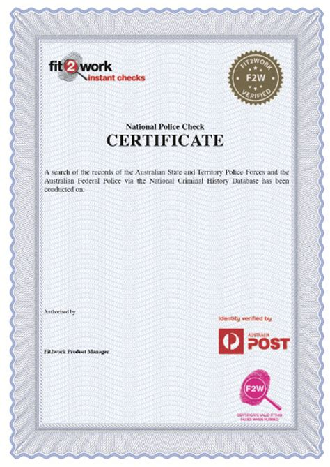 Criminal Record Check Australia Checks Australia Post
