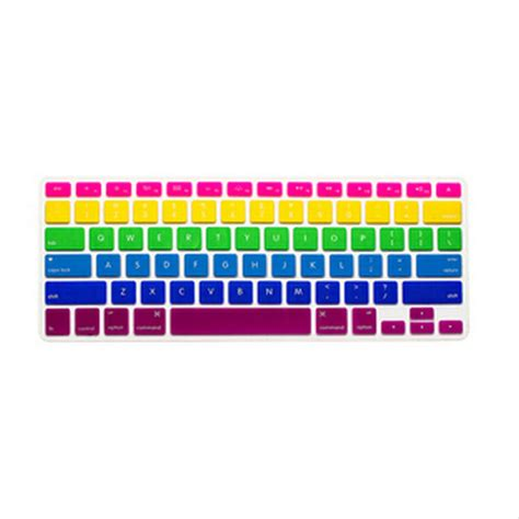 Silicone Keyboard Cover For Macbook Pro 2016 Murah rainbow silicone keyboard cover skin 6 color rainbow keyboard 2016 new for macbook air retina