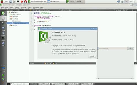 qt tutorial for beginners windows hello raspberry pi install qt5 qt creator for raspberry