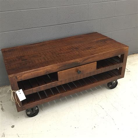 Coffee Table With Wheels Coffee Table With Wheels Nadeau Nashville