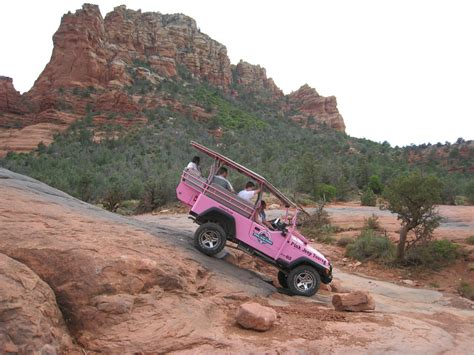 Rock Jeep Tours Sedona Take A Tour Through Sedona