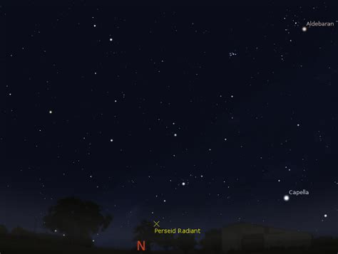 Meteor Shower 14th August by Astroblog Australian Perseid Meteor Shower Morning