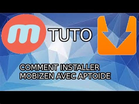 aptoide installer tuto comment installer mobizen avec aptoide youtube