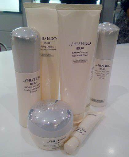 Rangkaian Shiseido shiseido luncurkan rangkaian produk untuk rawat kulit