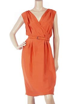 Ivi Dress Jersey by Couture Carrie Orange You Excited