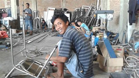 membuat video dari foto dan tulisan cara membuat kursi dan membekok pipa stenlise 3 4 youtube