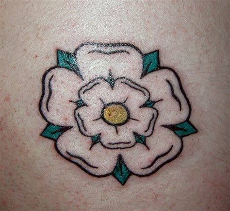 yorkshire rose tattoo flickr photo