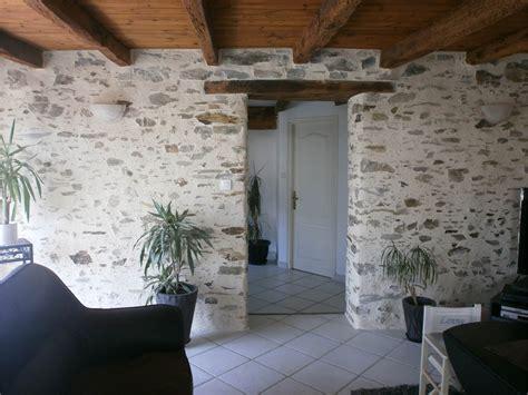 Mur En Pierres Apparentes by Cuisine Cuisine Mur Brique Blanc Chaios Deco Mur
