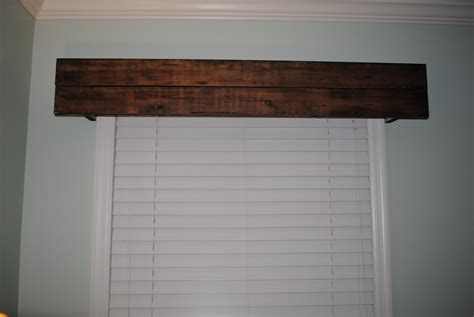 Cornice Window Valance Whitehouse Project Rustic Cornice