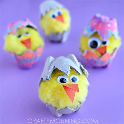 egg hatching craft crafty morning