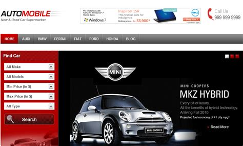 Theme Wordpress Free Car | 3 best wordpress themes for car dealerships wp solver