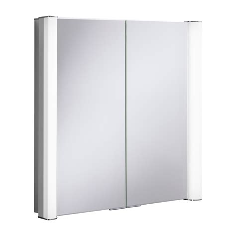 illuminated mirrored bathroom cabinets duo 800 illuminated mirrored cabinet in mirrored cabinets