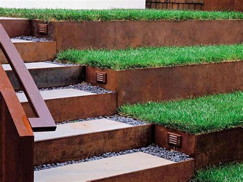 landscaping stairs landscape design ideas for stairs hgtv
