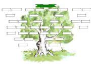 family tree template family tree template esl