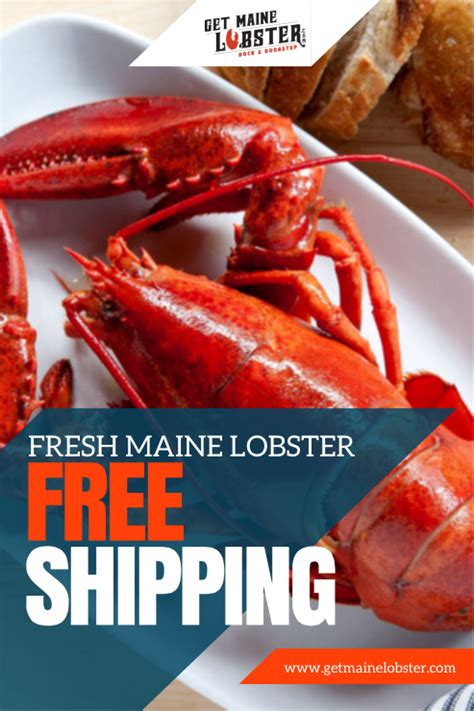 Delivered Right To Your Doorstep - enjoy the convenience of fresh maine lobster and seafood